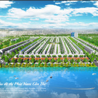 đất Nền Ven Sông Khu Nam Cần Thơ - Fenix City, Pháp Lý Rõ Ràng, Hỗ Trợ Tài Chính Tới 70%