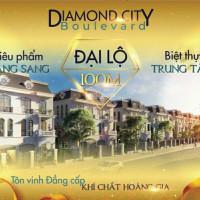 Diamond City -phân Khu Hạng Sang Liền Kề Trục đường 100m Lớn Nhất Tp Huế