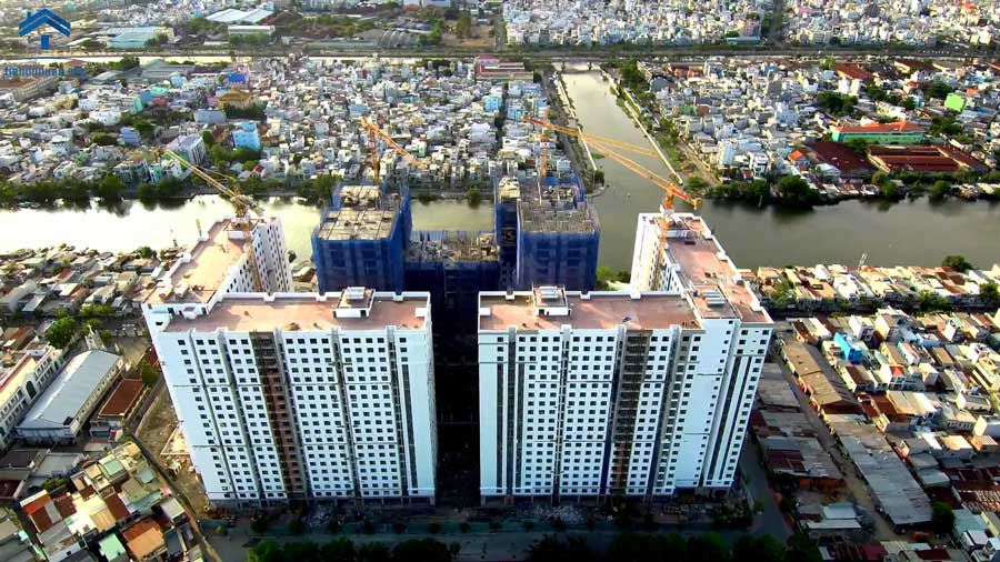 Cho thuê sàn 2,889m2 tầng 4 chỉ 837 triệu/tháng, mặt tiền Phạm Thế Hiển, Quận 8