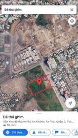 Bán đất lớn mặt tiên Trần Não Bình An Quận 2 Dt 3580m