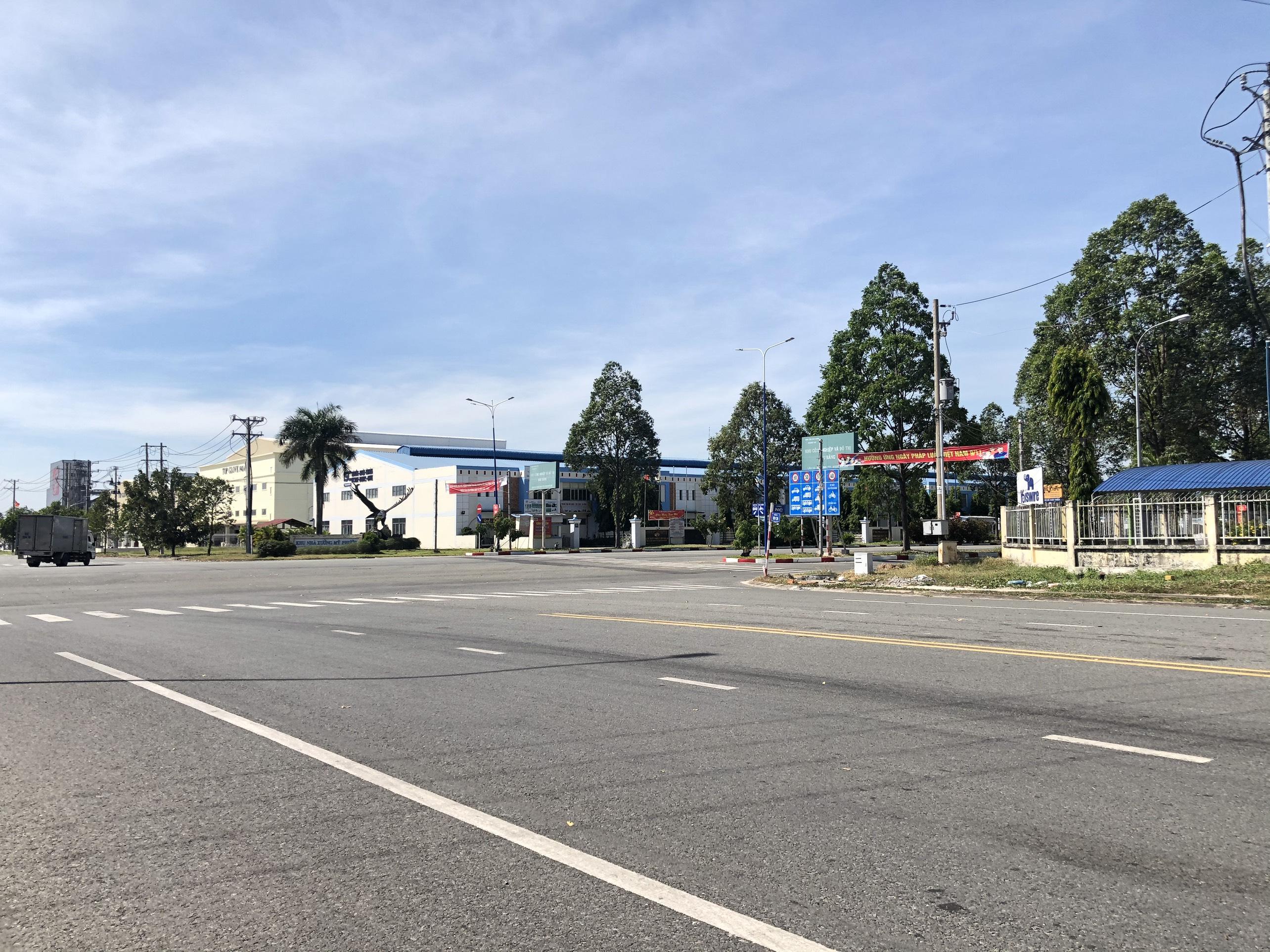 Ngộp miếng đất KCN Mỹ Phước 5 HR 100% thổ cư
