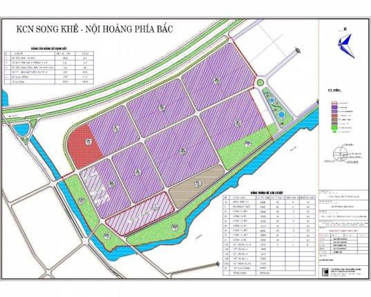 Khu công nghiệp Song Khê - Nội Hoàng