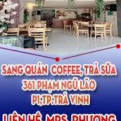 Chính Chủ Cần Sang Quán ở Thành Phố Trà Vinh Do Không Người Quản Lý Cần Sang Lại Quán Cafe, Trà Sữa