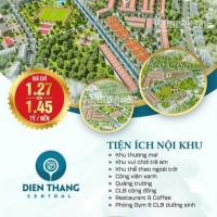 điện Thắng Central Ngay Ql1a, Lề Rộng 6 Mét đẹp Nhất Dự án