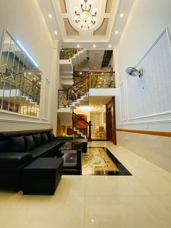 Nhà Đẹp Như Tranh 4D-Xe Hơi Đậu Trong Nhà-5Tầng-56 m2,Đường số 8, F11, Gò Vấp