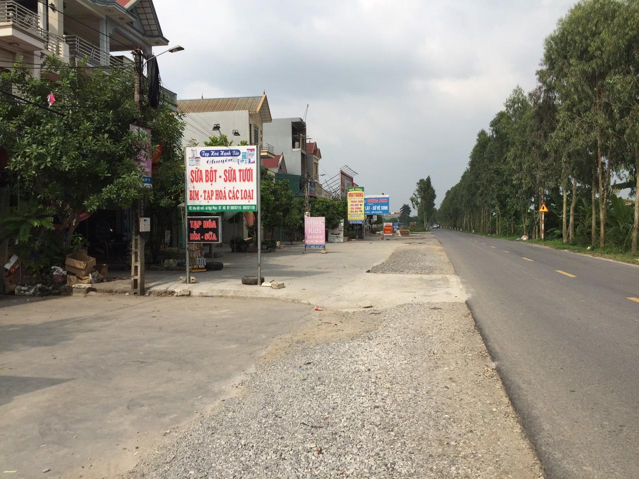 Bán đất phân lô khu dân cư mới Ngũ Phúc Kim Thành