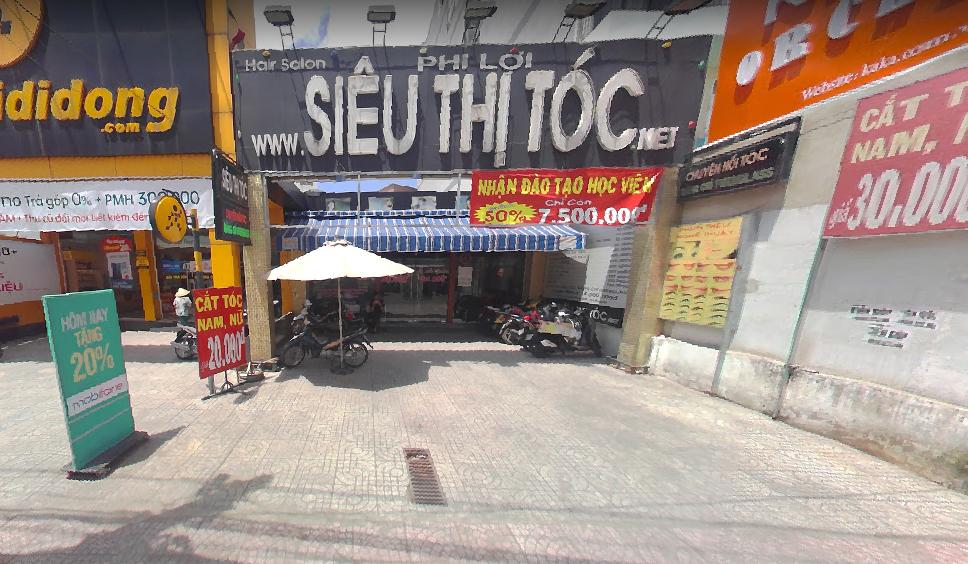 Cho thuê nhà MT Phan Văn Trị P11 Bình Thạnh 8x40 giá 80tr