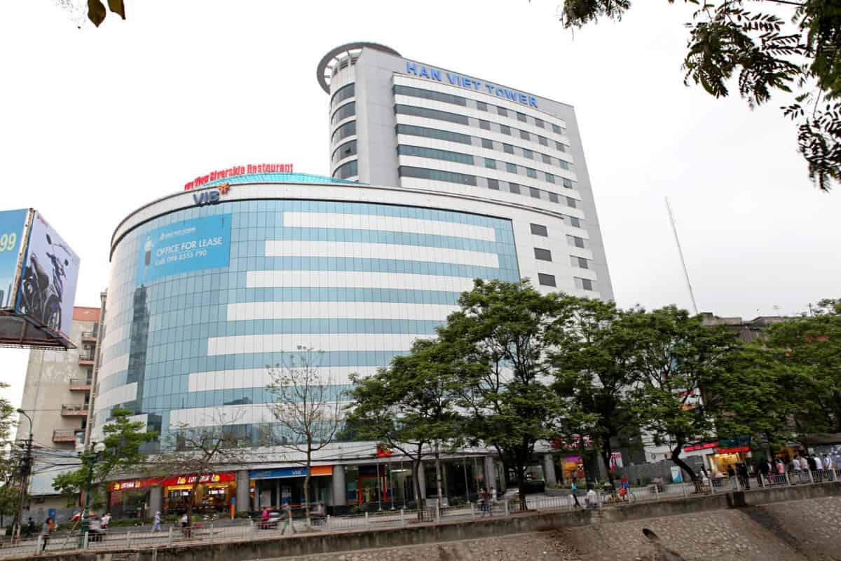 LH: 0909300689 Cho thuê văn phòng sang trọng tòa Hàn Việt, Minh Khai, nhiều diện tích trống