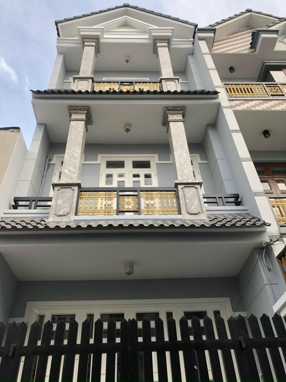 Nhà mới 2 lầu 34 x 10 Lê Văn Khương quận 12 Gía 1 tỷ 700 Hẻm rộng