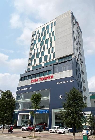 Cho thuê văn phòng 100m2, 140m2, 250m2 tại tòa Zen Tower, Khuất Duy Tiến