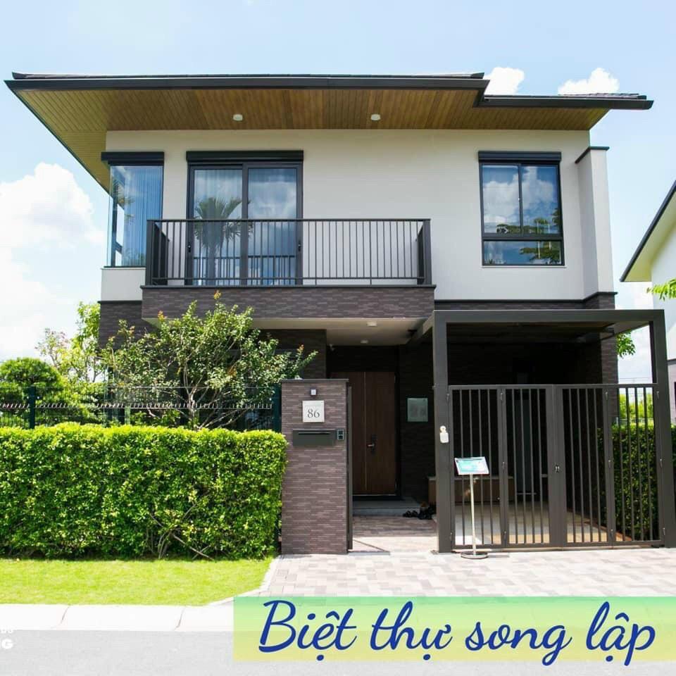 Bán gấp Biệt thự Song Lập 10x15m 4,8 ty bao phí thuế, nhận nhà ngay, 3 mặt giáp sông