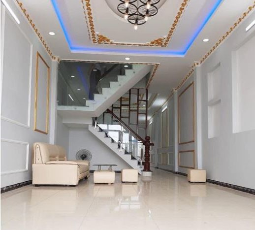 Chính chủ nhà mới 2 lầu 5PN đường Trần Thị Hè, Q12 Gía 3 tỷ 150 / 146m2