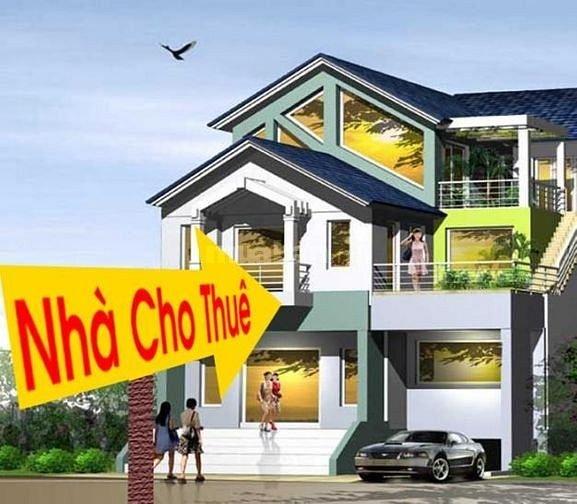 Cho thuê nhà nguyên căn Phan Đăng Lưu, DTSD 200m2, giá 17tr/tháng