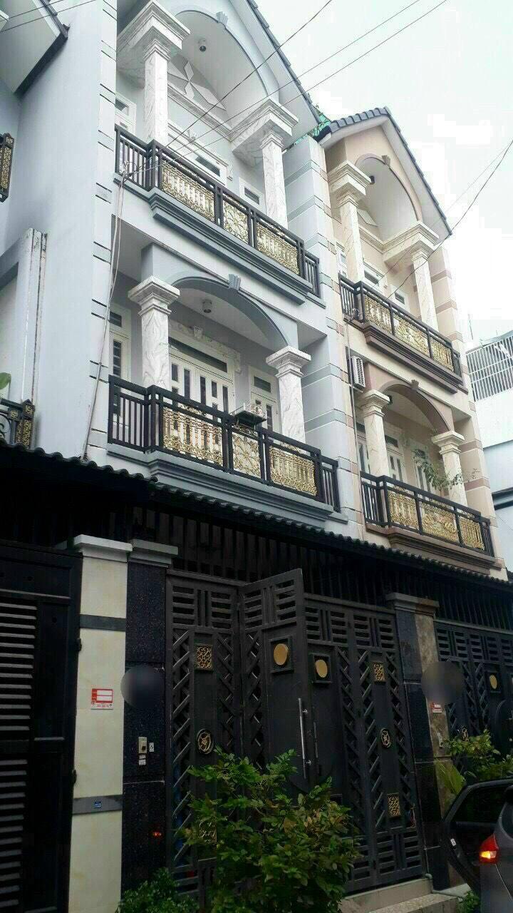Nhà mới 2 lầu đường Lê Văn Khương Hiệp Thành, Q12 Gía 1 tỷ 700 / 34m2 Hẻm rộng