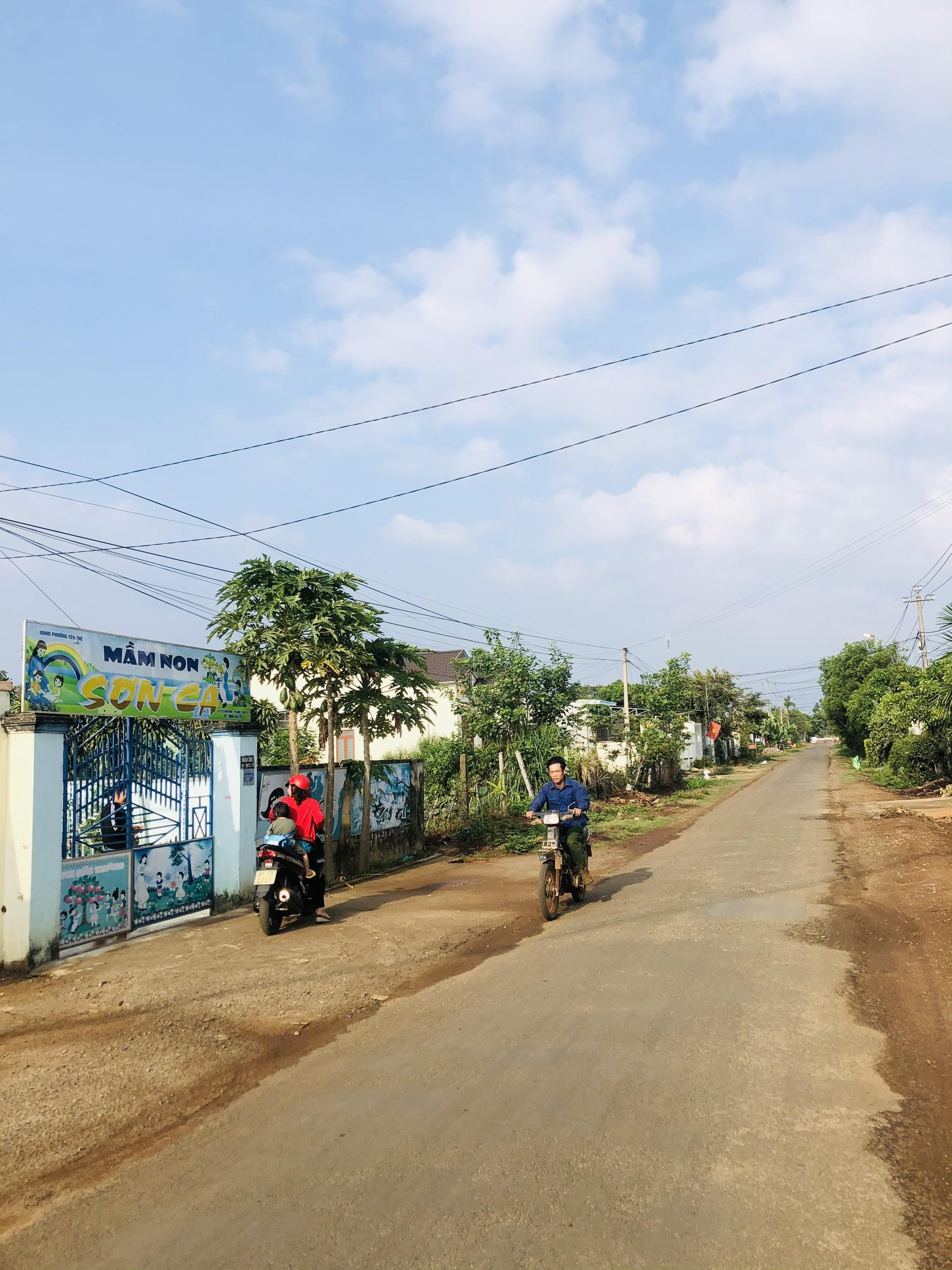 Bán đất hẻm 2 mặt tiền đông tây, Phường Yên Thế