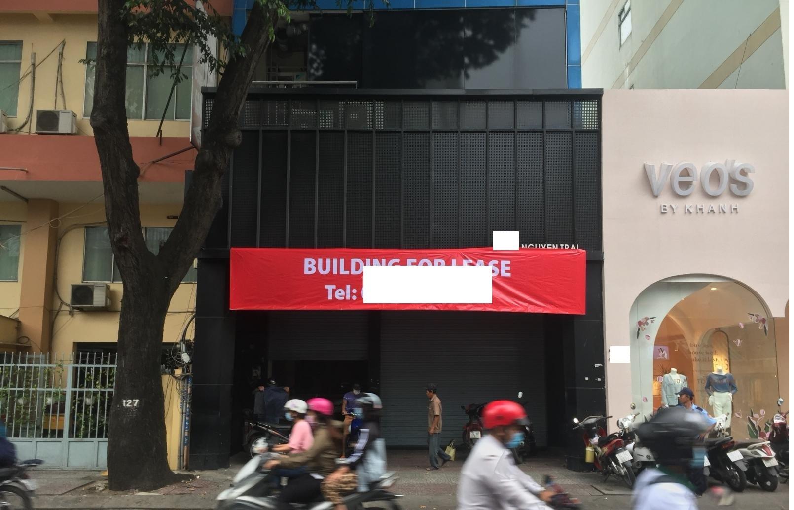 Cho thuê nhà Quận 1- Nhà MT đường Nguyễn Trãi