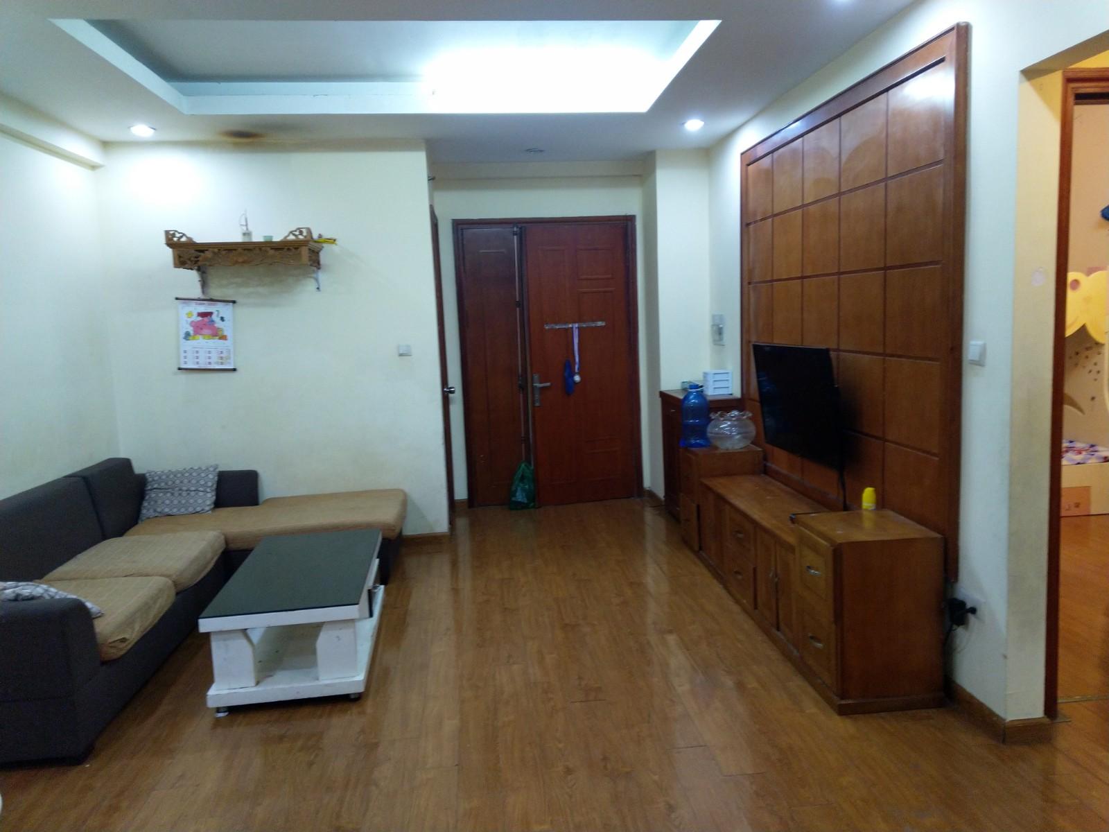 Bán căn hộ 2PN chung cư Green House Việt Hưng Long Biên full đồ
