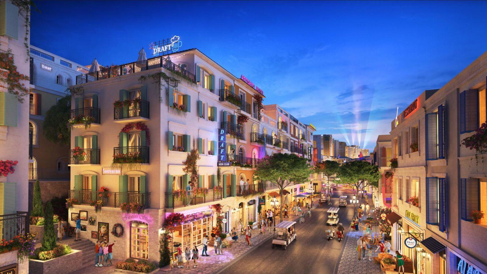 Độc quyền quỹ căn shophouse SUN GRAND BOULEVARD cận góc 112mx5, giá tốt, không chênh -