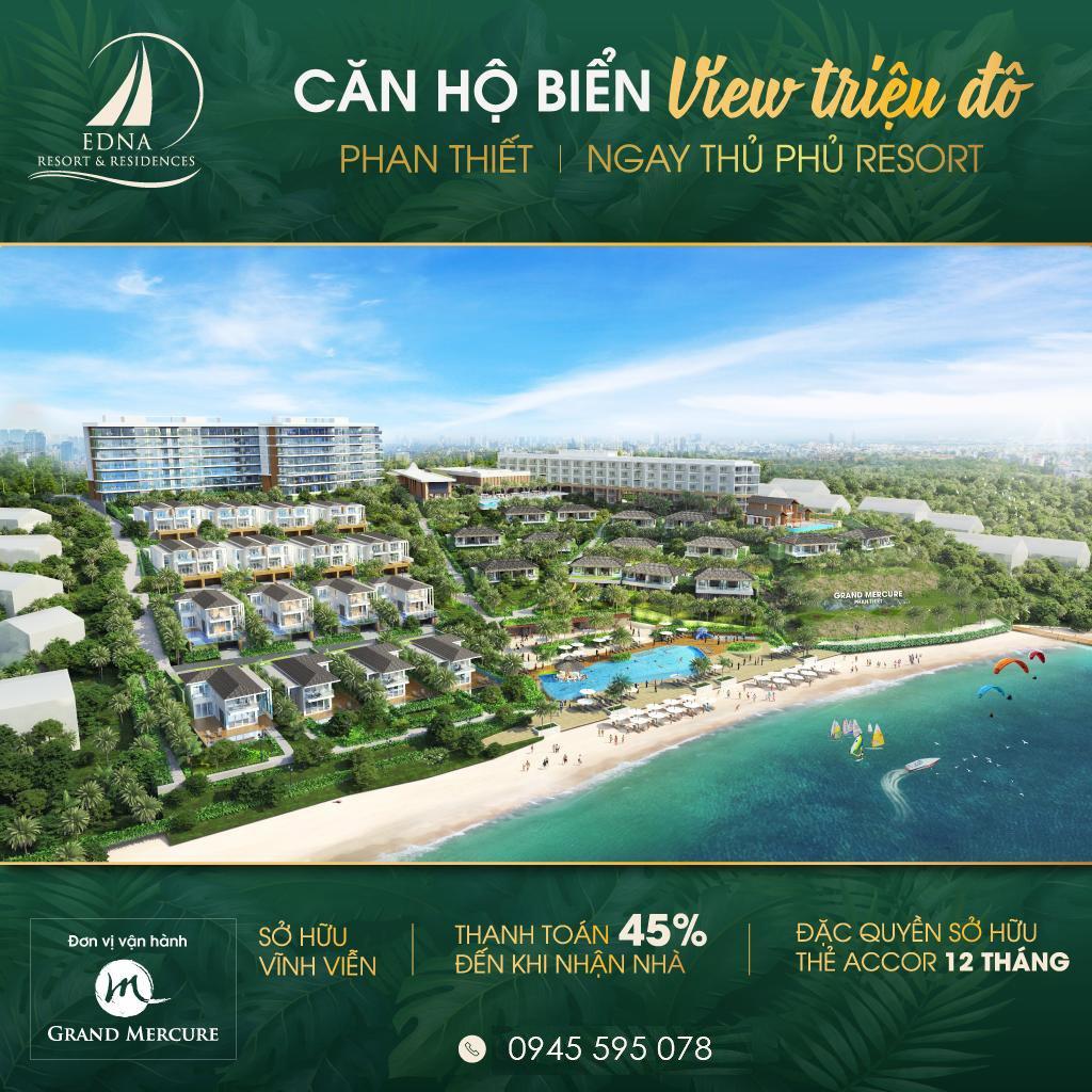 Edna Grand Mercure Resort & Hottel 5 Sao Quốt Tế Duy Nhất Tại Tp Biển Phan Thiết