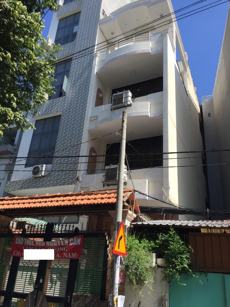 Cho thuê nhà Quận Bình Thạnh - Nhà MT đường Tăng Bạch Hổ