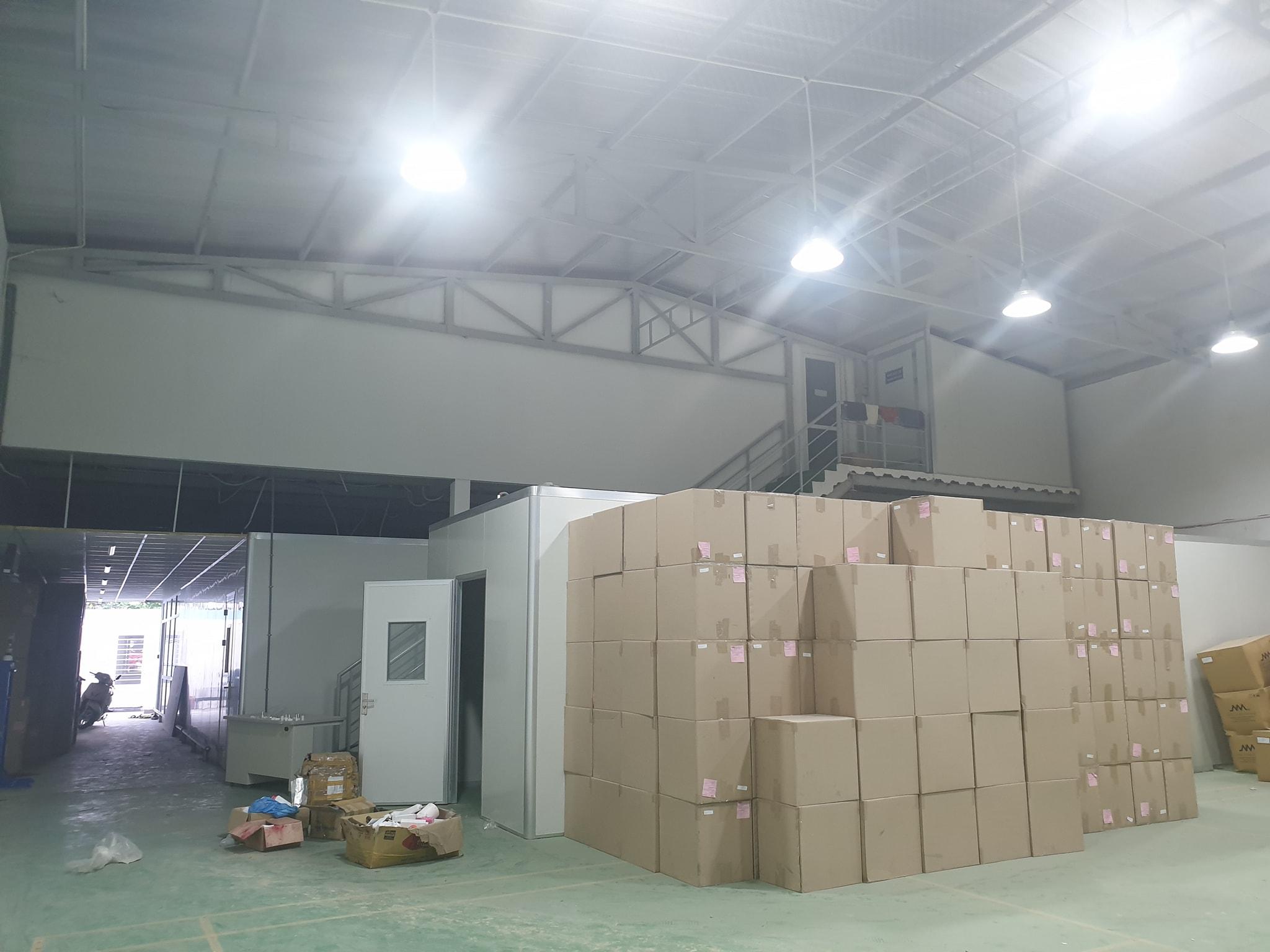 Tổ Hợp Cty Bao Gồm: VP, Nhà Xưởng SX-DT 1300m2-Võ Thị Thừa KP3 PAn Phú Đông Q12