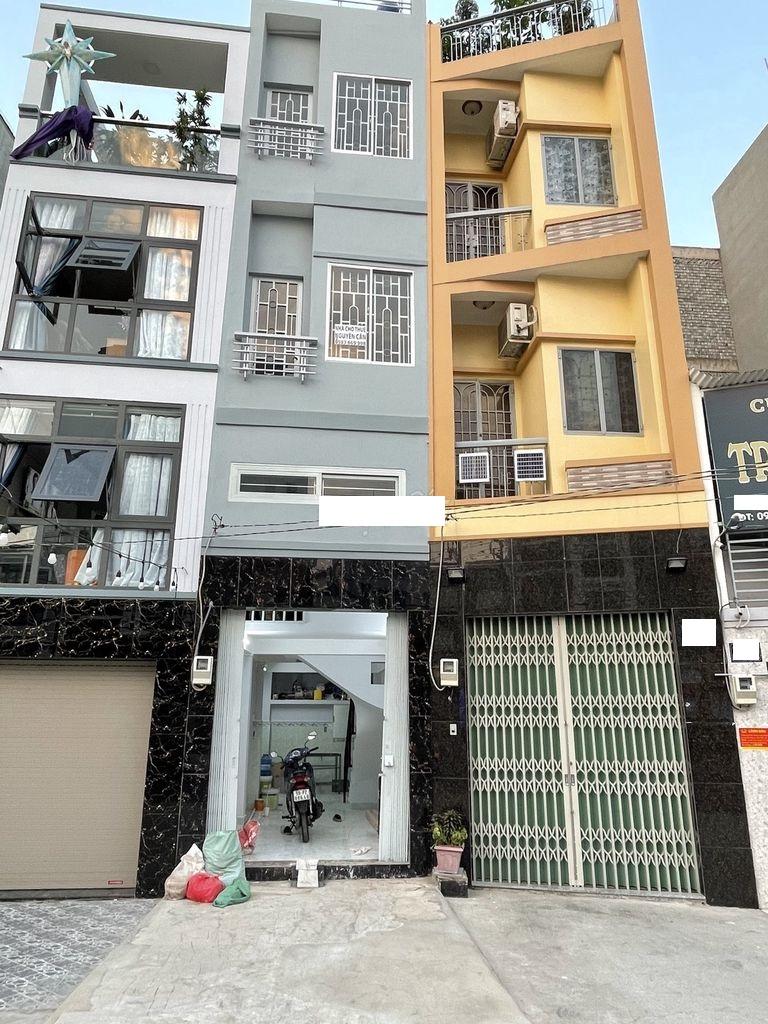 Cho thuê nhà Quận Tân Bình- Nhà MT đường Cách Mạng Tháng 8