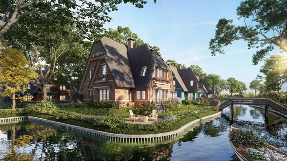 Chính chủ bán biệt thự làng Hà Lan ecopark giá rẻ