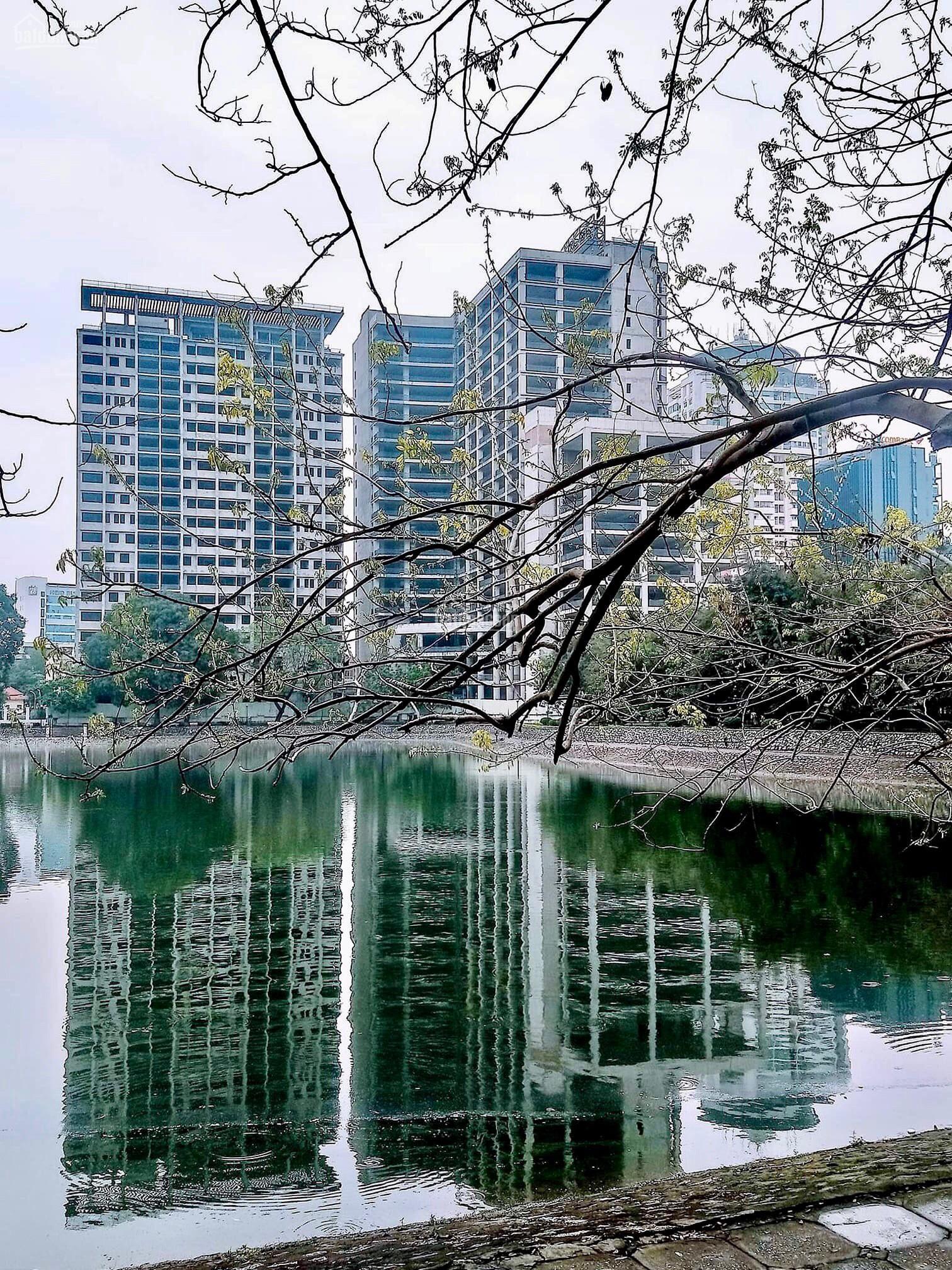 Bán chung cư trung tâm Ba Đình BRG Grand Plaza 16 Láng Hạ, view Hồ Thành Công từ 90tr/m2, vay LS 0%