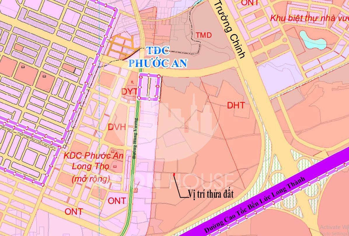Chủ gửi Bán đất , Dt :138m2 , hướng : Đông Bắc, giá :1,25tỷ, xã Phước An , Huyện Nhơn Trạch