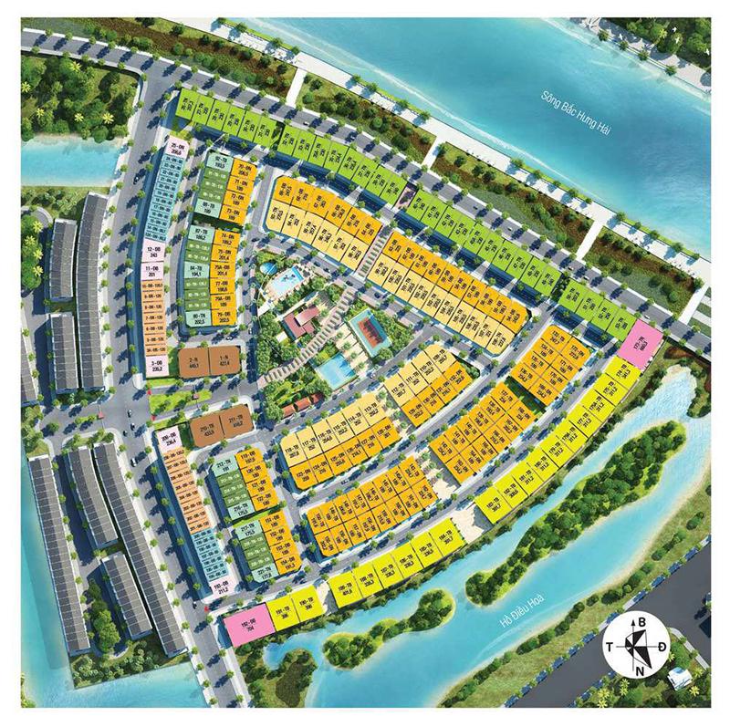 Bán biệt thự Park River vị trí kinh doanh thuận tiện như nhà phố