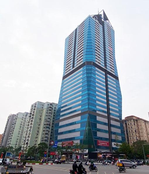 Bán/ cho thuê sàn văn phòng hoàn thiện tòa Diamond Flower, Lê Văn Lương, 120m2 – 650m2