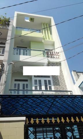 Cho thuê nhà Quận 3- Nhà HXH đường Huỳnh Tịnh Của