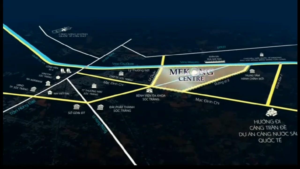 Đặt mua vị trí đẹp tại dự án mekong centre sóc trăng có hòa tiền sau khi mở bán