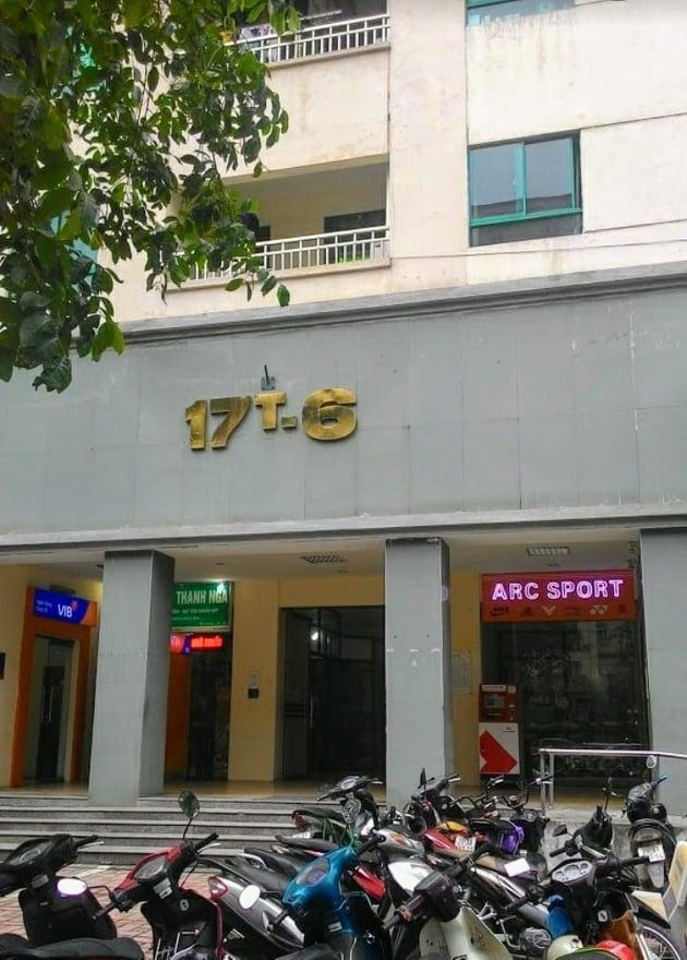 Cần bán căn hộ ở 17T6 Hoàng Đạo Thúy