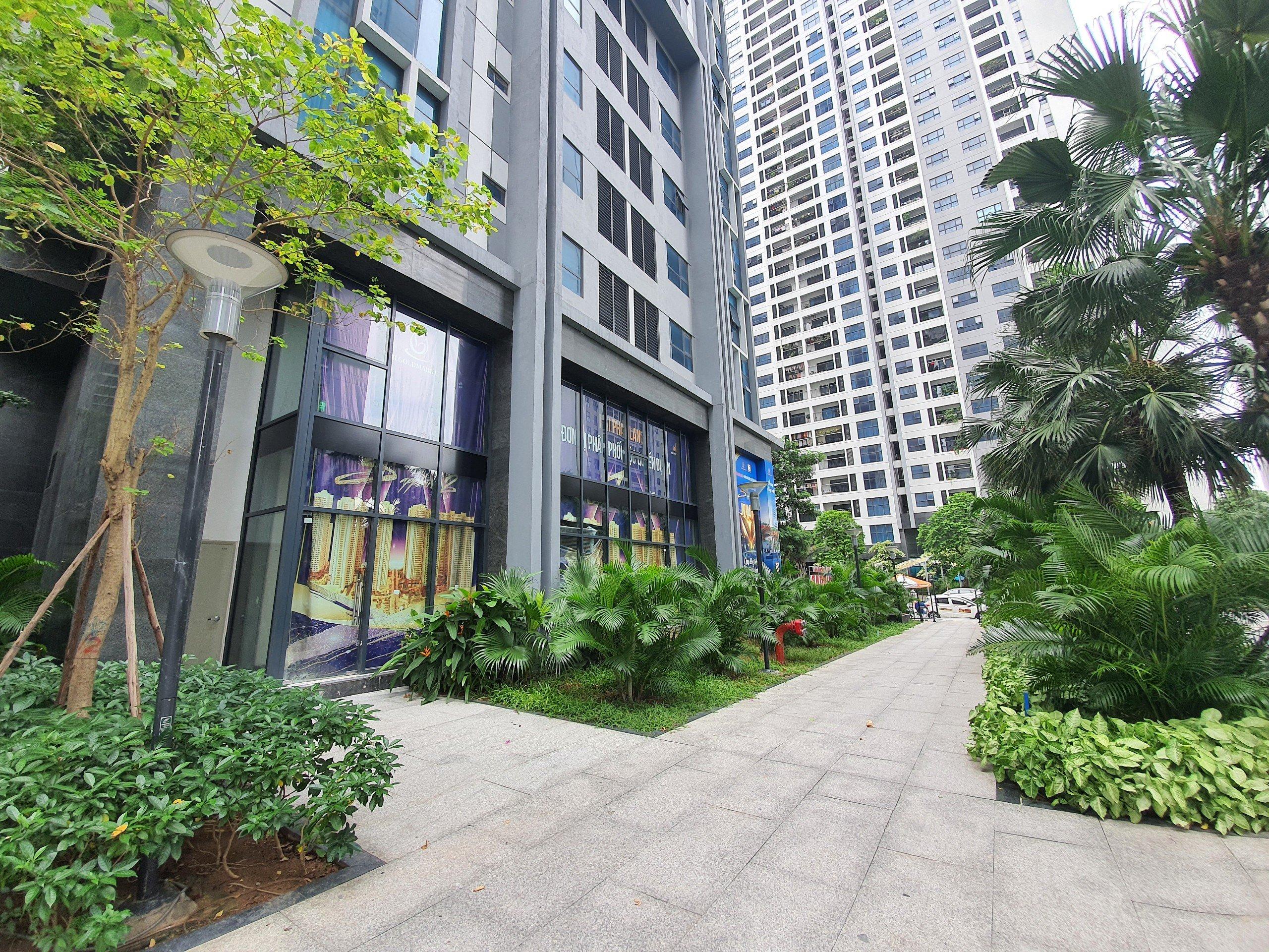 Cho thuê mặt bằng kinh doanh DT 150m2 tại tòa S2 Goldmark City 136 Hồ Tùng Mậu