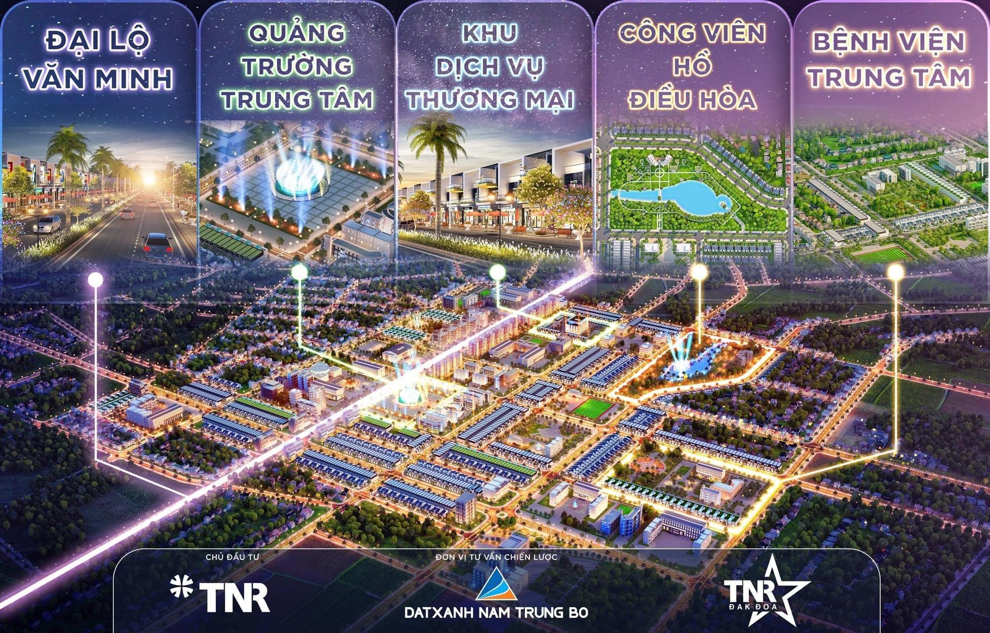 Đầu tư đất ngay TT Hành Chính Huyện Đak Đoa, Gia Lai chỉ với 550 Triệu