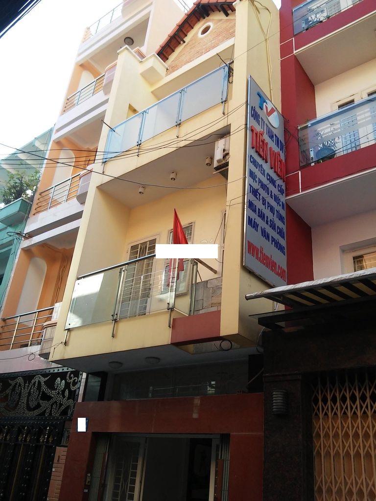 Cho thuê nhà Quận 1- Nhà hẻm nội bộ đường Nguyễn Cảnh Chân