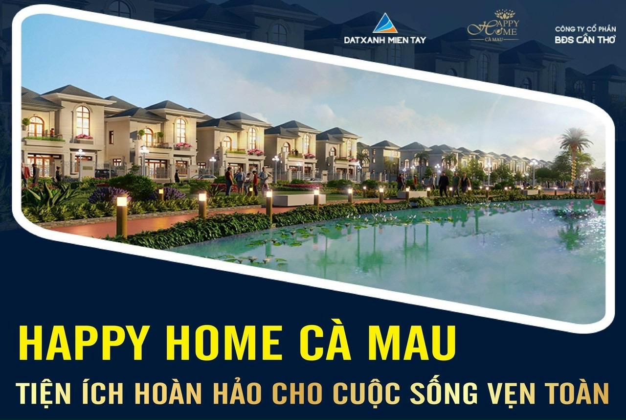 Happy Home Thành Phố CÀ MAU Tậu ĐẤT VÀNG chỉ từ #350_triệu