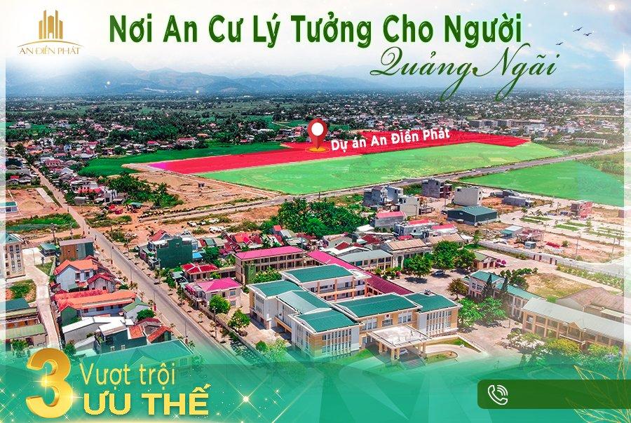 Bán Đất Đô Thị Vệ Tinh Phía Nam Tp Quảng Ngãi