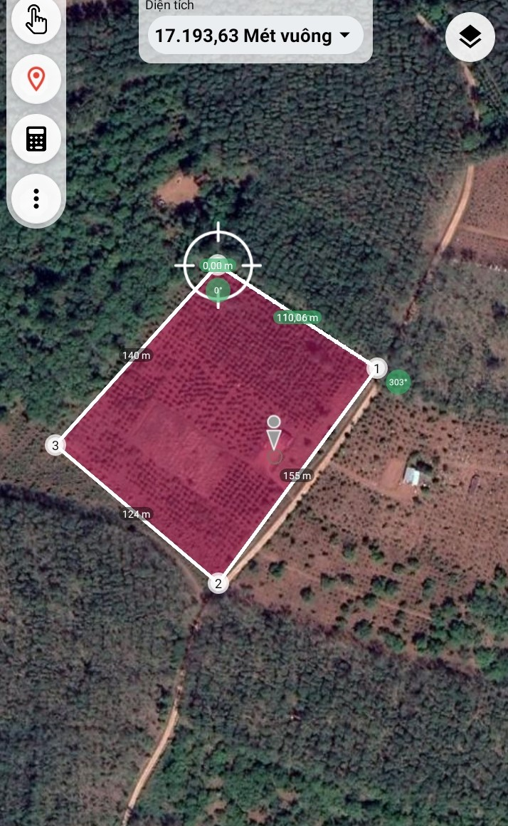 2ha đất trồng café , 150m mặt tiền đường bê tông giá siêu rẻ chỉ 15 tỷ