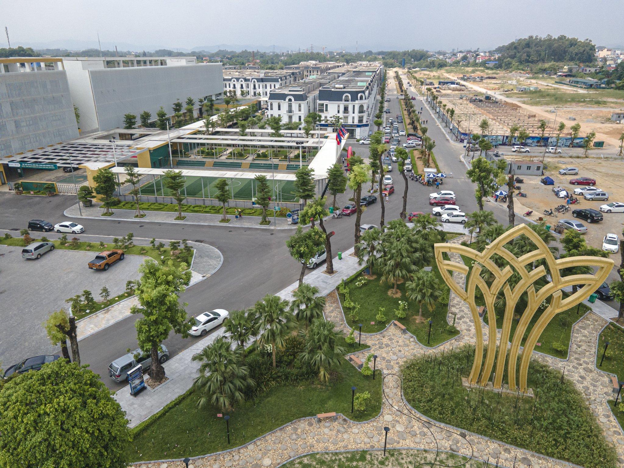 Cần bán Biệt thự, Shophouse, Villa, Liền kề Khu đô thị Crown Villas Thái Nguyên