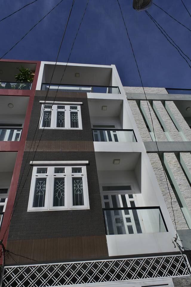Nhà HXH nội bộ Bình Long 4 tấm, 4 PN, 44 x115m, 15 triệu/tháng