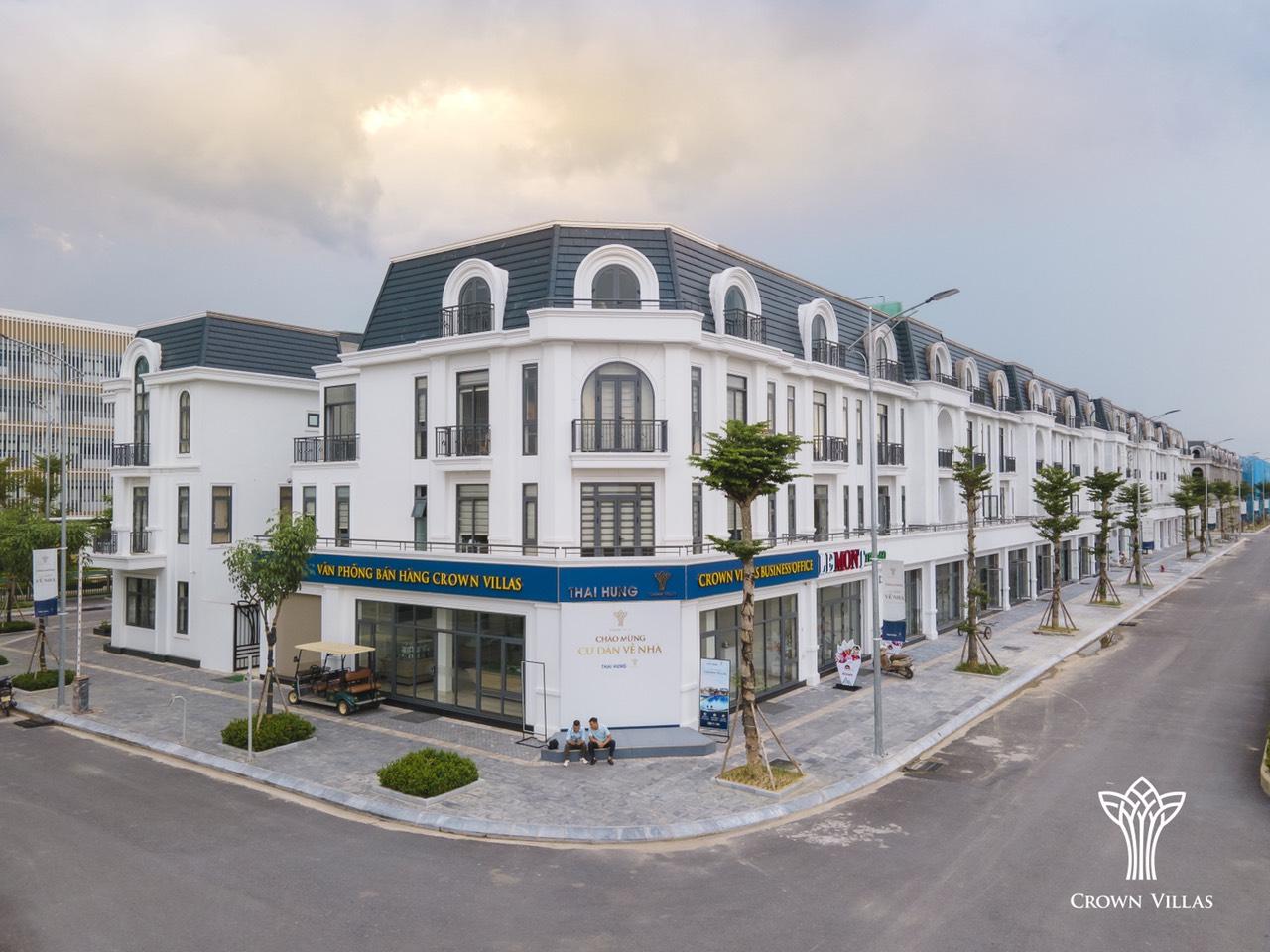Mua nhà 0đ tại Crown Villas Thái Nguyên lãi suất 0% 18 tháng