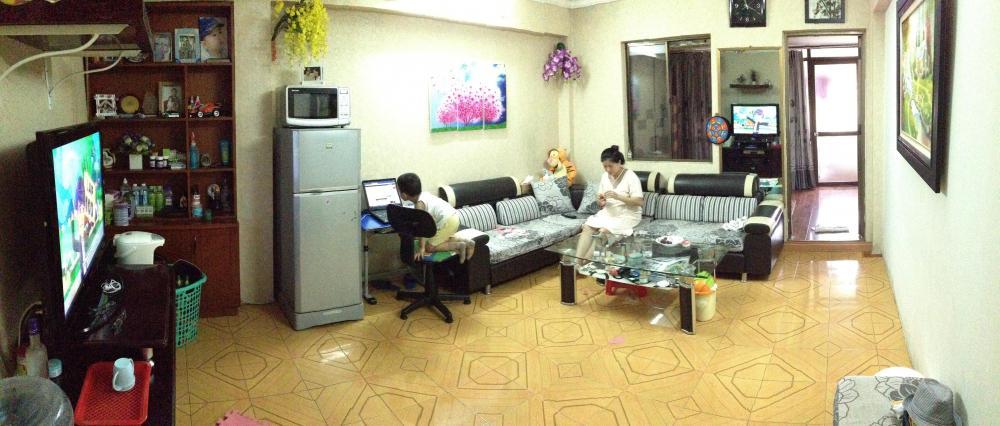 Chính chủ cho thuê nhà tập thể Bách Khoa, hai phòng ngủ, đủ đồ chỉ việc đến ở