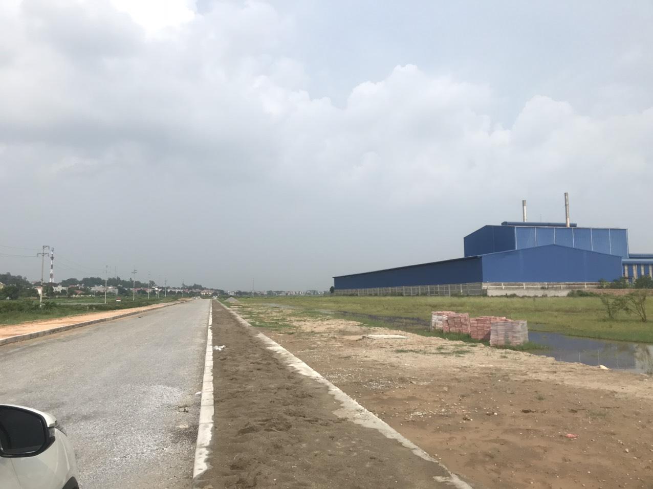 duy nhất lô đất công nghiệp dt nhỏ 6000, 8000m2 tại KCN Bắc Ninh đã sẵn hạ tầng bàn giao ngay