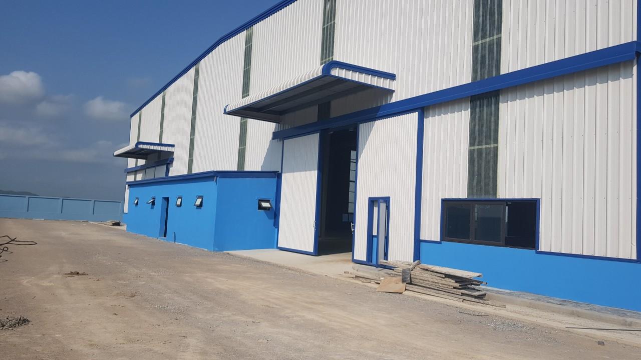 Cho thuê nhà xưởng 8620m2 KCN Quế Võ, xưởng mới vào được ngay