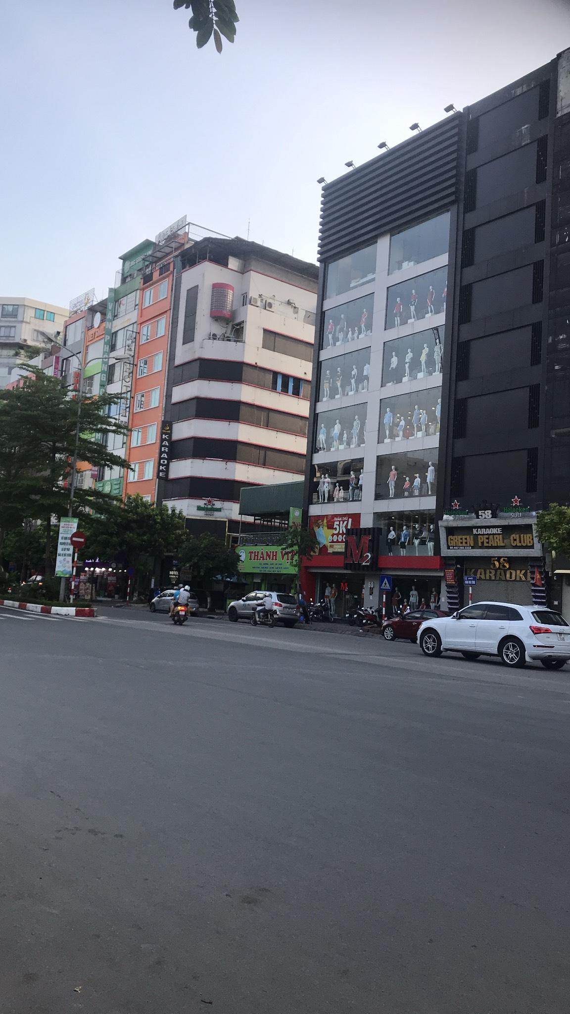 Nhà mặt phố Trần Thái Tông, 3 mặt tiền, duy nhất chỉ có 1 căn: DT90m2*MT7m* giá 40 tỷ