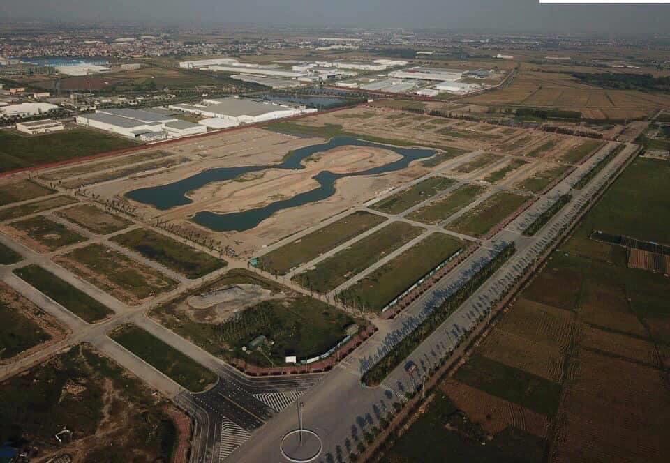 Các ô đất chính chủ cắt lỗ mùa dịch dự án V - Green City (New City ) Phố Nốitừ 12x tr/m2