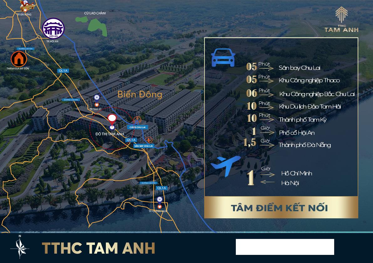 Cần bán Đất nền dự án dự án Chu Lai Riverside, Diện tích 157m², Giá 7 Triệu/m² - LH: 0905930540