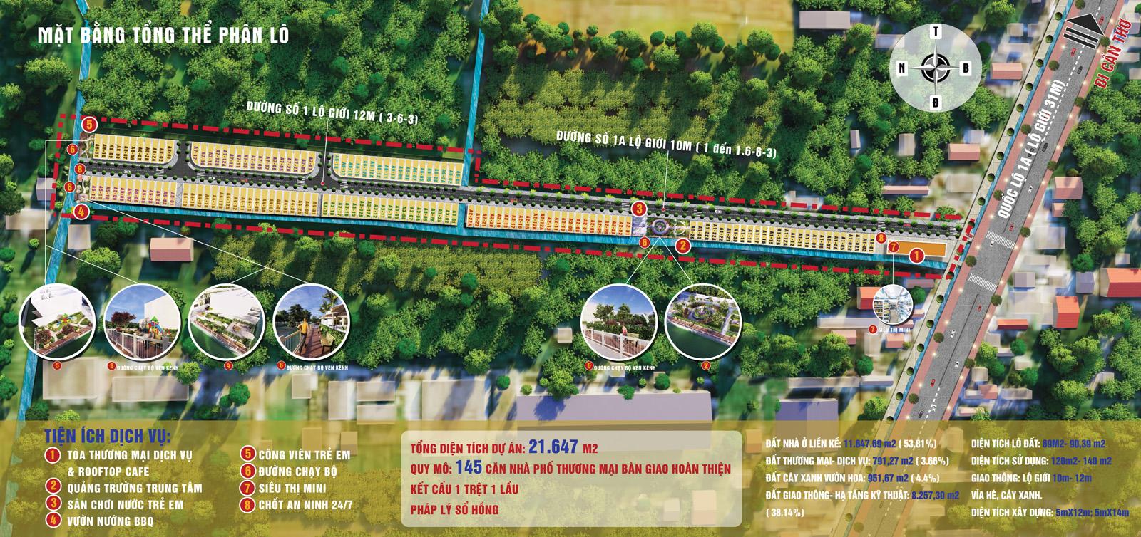 Long Thạnh Central point mở bán nhà mặt tiền đầy đủ tiện nghi số lượng có hạn